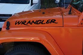 jeep wrangler stickers jeep wrangler custom hood set decal sticker jeep graphics