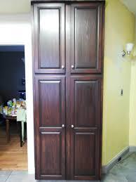 oak kitchen pantry cabinet kitchen furniture tall corner pantry cabinet lowes kitchen along