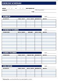 exercise session plan template 28 images fitness plan office