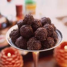 halloween chocolate balls homemade candy recipes