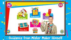 mister maker let u0027s make it design draw paint make and play