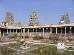 Hindu Temple Floor Plan by Madurai