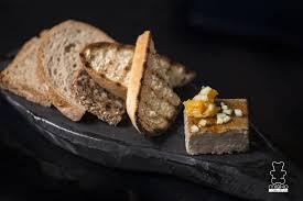 menu cuisine collective pieczywo z foie gras bread with foie gras miśko company miśko