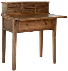Desks With Drawers On Both Sides Amh6520c Desks Furniture By Safavieh