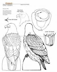 912 bald eagle carving wood carving patterns wood carving