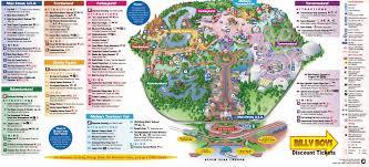 Disney Resort Map Map Of Walt Disney World Resort Within Printable Maps