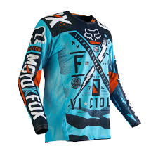no fear motocross gear fox racing 2016 180 vicious jersey aqua available at motocross giant