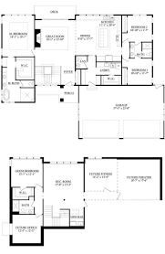pointe homes floor plans 20 u2013 the tiffany u2013 mba parade of homes 2017