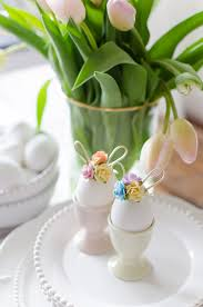 Easter Egg Decorating Bunny by Easter Egg Decorating Idea Mini Floral Bunny Ears A Burst Of
