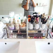bathroom makeup storage ideas bathroom makeup storage desk makeup organizer medium size of