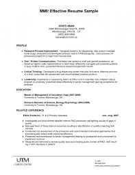 Bad Resumes Examples Of Effective Resumes Resumes How To Write An Effective