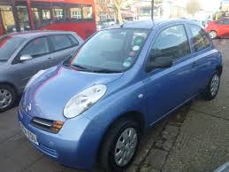 blue nissan micra used 2004 nissan micra s 3dr for sale in london autotrust cars