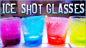 how to m how to make ice shot glasses youtube