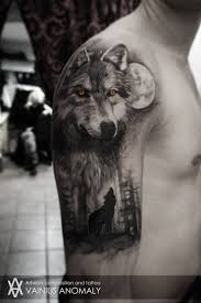 collection of 25 wolf howls in the snowy mountains on chest