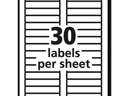 4 template for address labels 30 per sheet lease template mailing