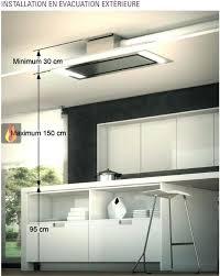 comment installer une hotte de cuisine hotte cuisine plafond comment installer une hotte de cuisine