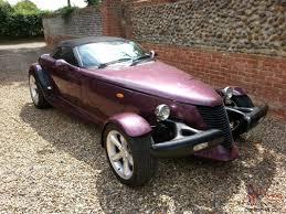 plymouth prowler replica convertible rod kit car mot tax fiero