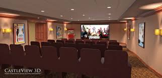 life should be 3d page 3 of 10 castleview 3d s blog about castleview 3d interior rendering of the movie theater in the reserve clubhouse