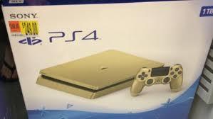 Ps 4 Ps4 Slim 500 Gb Gold Original Garansi Resmi Sony Pes 2018 news gold ps4 slim leaks ahead of june 9 launch