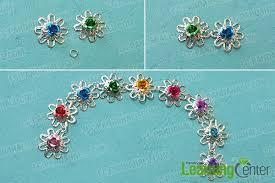 handmade flower bracelet images How to make simple handmade flower bracelet for girls jpg