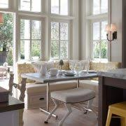 Breakfast Banquette Wood Banquette Seating Dining Room Traditional With Built In Bench