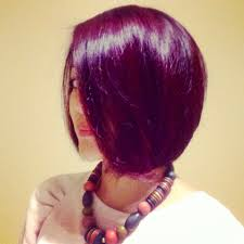 red violet hair haircolor hairstyle fashionstation pinterest