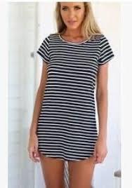 2016 black white elegant women shirt dress top tee summer short