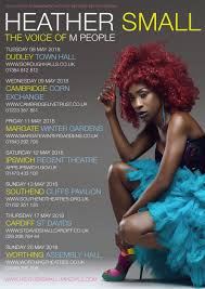 heather small 2018 tour announced heather small the voice of m