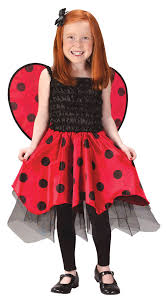 Toddler Halloween Costumes Girls Girls Fancy Ladybug Costume Costumes Ladybug