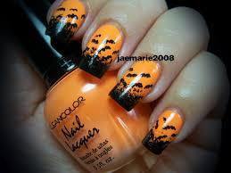 nail art marvelous easy halloween nail art photosign for short