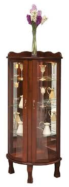 Wall Curio Cabinet With Glass Doors Viviana Wall Curio Cabinet Wall Curio Cabinet Walls And