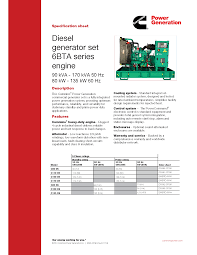 c110d5c 1 diesel generator pr power