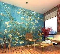 Gogh Almond Blossom Wall Mural Wallpaper Photowall Home Mandala