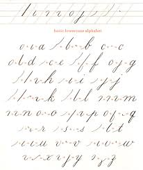 learning how to write in calligraphy is in many ways similar to