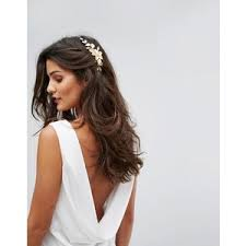 flower hair accessories gold hair accessories polyvore