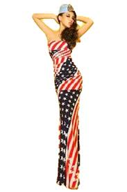 patriotic halloween costumes amazon com t2c american flag long maxi dress women u0027s usa star and
