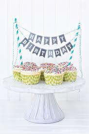 free printable birthday cake banner free printable happy birthday mini cake bunting printable alphabet