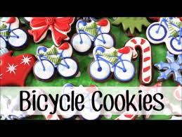 how to make decorated bicycle cookies cookies sports