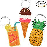 unique luggage tags colorful unique flip flop luggage tags set of 4 in