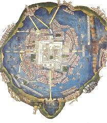 Tenochtitlan Map History