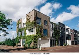 Modern Row Houses - modern dutch design stock photos u0026 modern dutch design stock