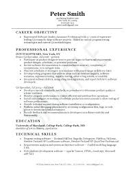 sample resume format for experienced person proper resume job