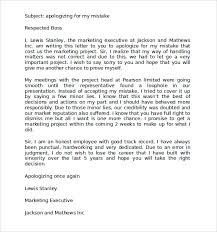apology letter sample apology letter for missed interview apology