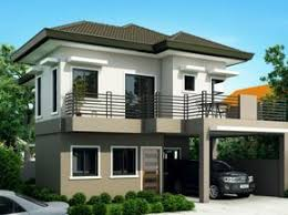 Two Storey House Plans  Pinoy ePlans  Modern House Designs Small