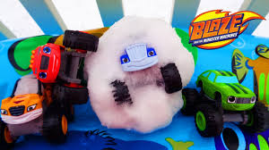 monster truck videos toys blaze and the monster machines nickelodeon blaze snowball flight