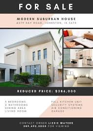 real estate flyers real estate flyer templates canva valo