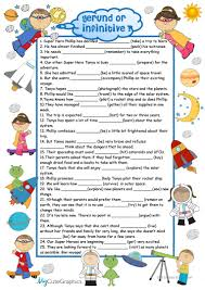 4 free esl space travel worksheets