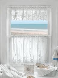 Sea Shell Curtains with Coastal Seashell Curtains U0026 Valances