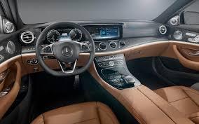 futuristic cars interior mercedes reveals e class interior