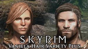 skyrim mod spotlight vanilla hair variety plus youtube